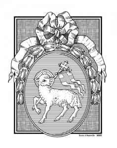 écu-agneau pascal